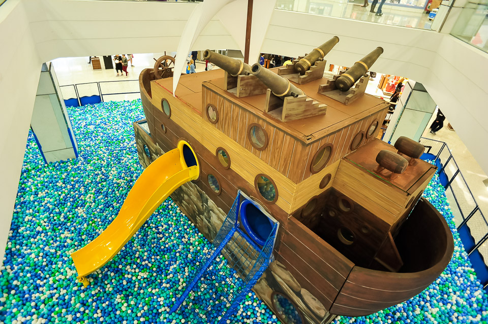 Piscina de Bolinhas Ilha do Pirata 1