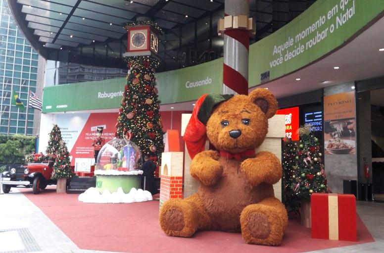 Shopping Center 3 -Natal dos brinquedos gigantes