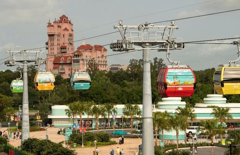 Walt Disney World Resort Unwraps 64 Disney Skyliner Gondolas