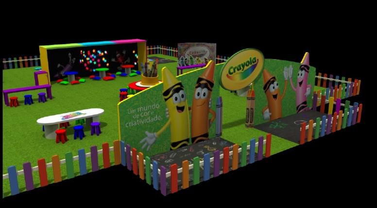 Shopping Anália Franco - Casa Crayola 1
