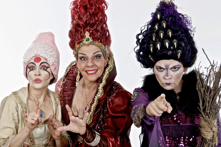 Bruxa Morgana - Ana Guasque - Rosi Campos e Suzan Damasceno Foto- Ary Brandi 2 (1)