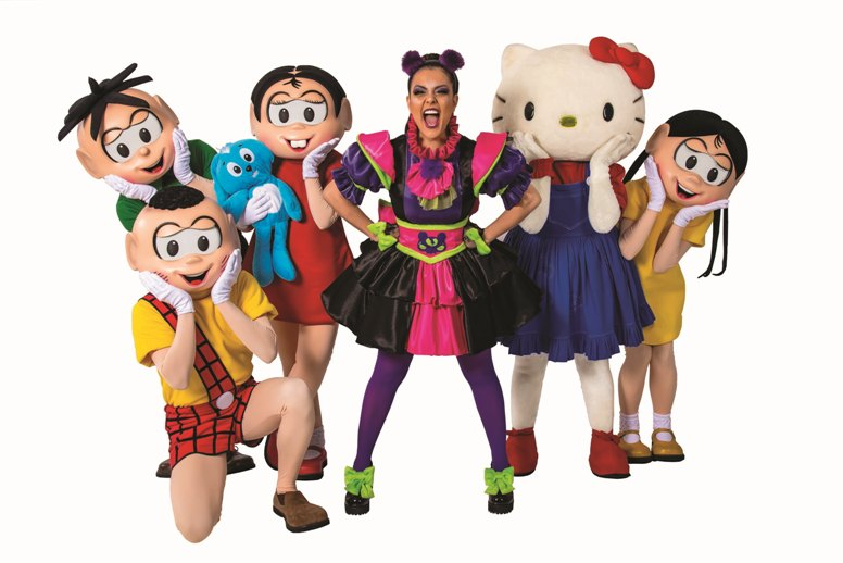 Turma da Mônica e Hello Kitty com Lissah Martins