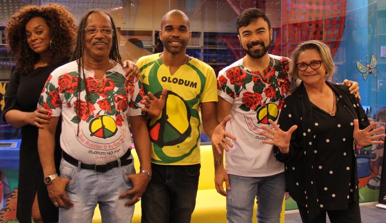 Paula Lima, João Jorge, Jorginho, Mauro Sousa e Fafy Siqueira