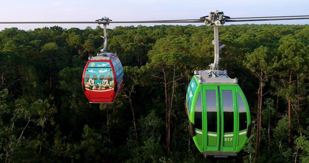 Disney Skyliner Takes Flight at Walt Disney World Resort in Flor